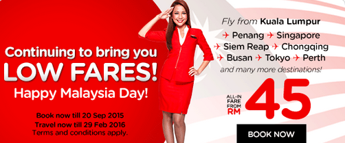 AirAsia Malaysia Day