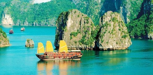 Cantiknya Ha Long Bay Vietnam