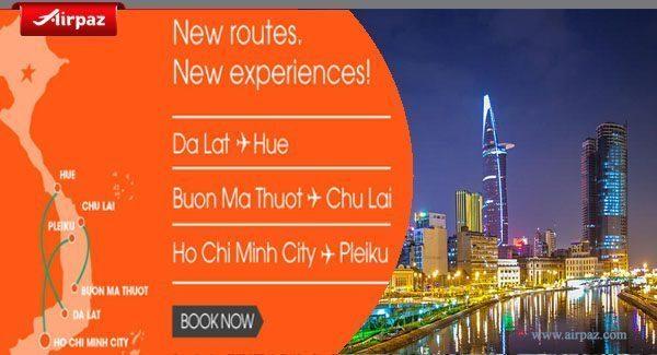 Jetstar vietnam new route on airpaz
