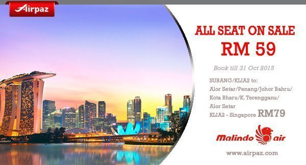 Promo AirAsia Malindo Air on Airpaz
