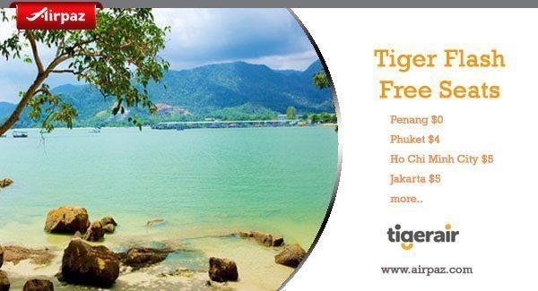 Promo Tiger Flash Free Seats