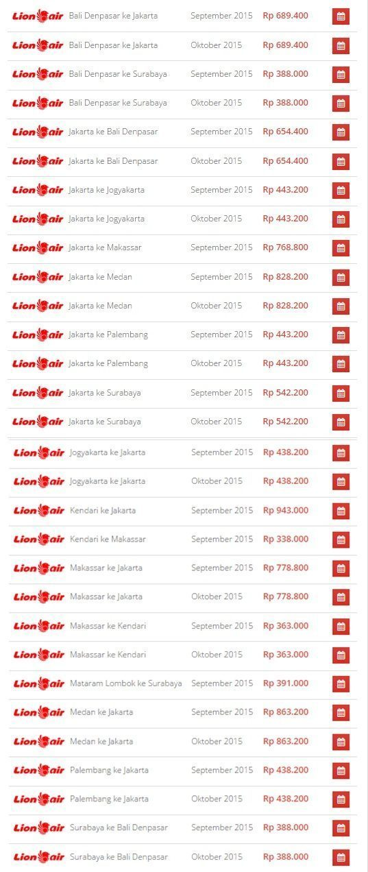 Promo Tiket Pesawat Lion Air di Airpaz September 2015