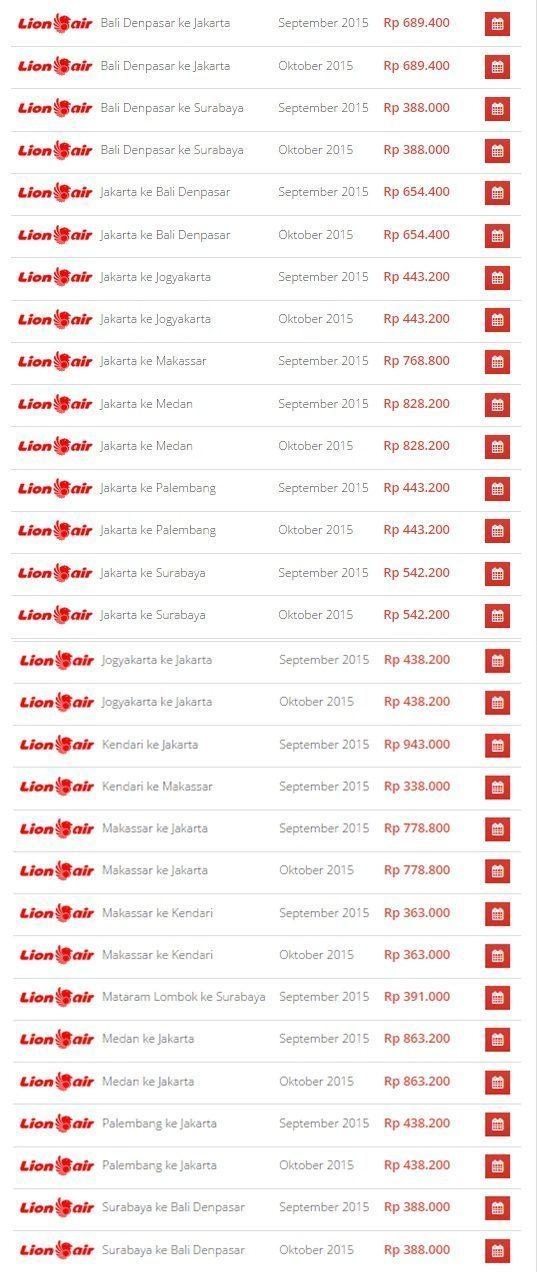 Promo Tiket Pesawat Lion Air Di Airpaz September 2015 Airpaz Blog Tips Liburan Dan Informasi Tempat Wisata Terlengkap