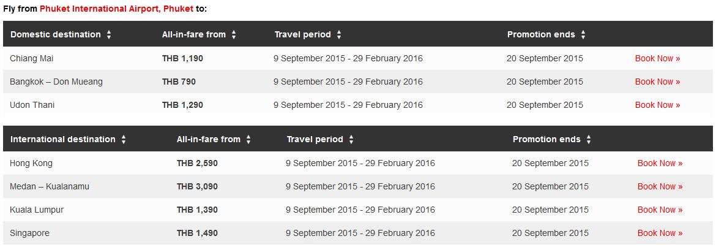 thailand school holiday fare list 3
