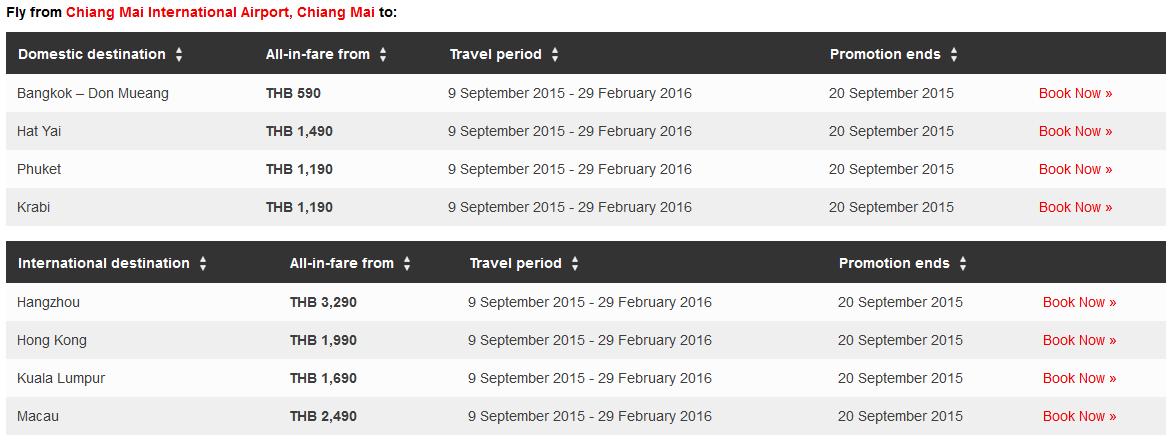 thailand school holiday fare list 4