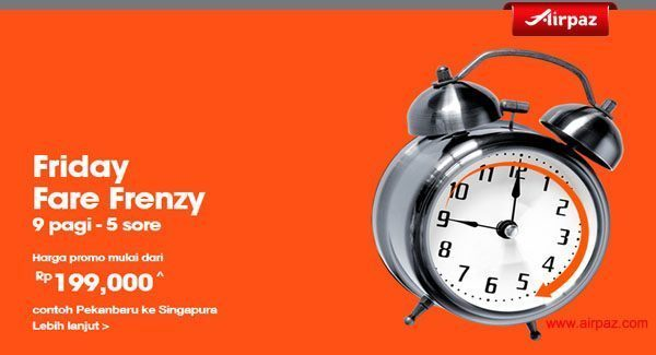Jetstar Friday Fare Frenzy 27 nov