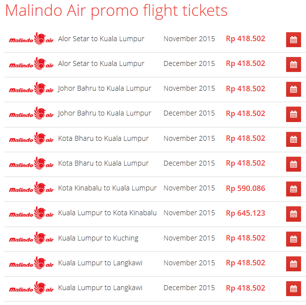 Malindo on Airpaz promo