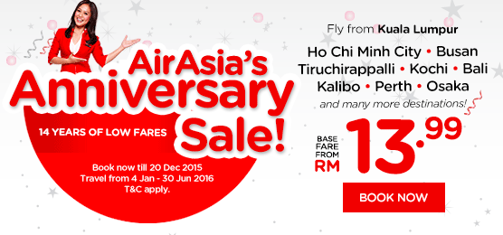 AirAsia Aniversary Sale