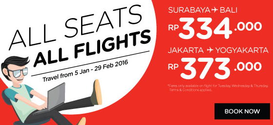 All Seats All Flight AirAsia