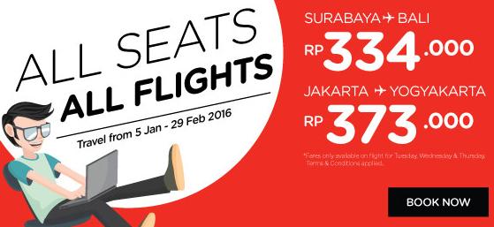 All Seats All Flight AirAsia