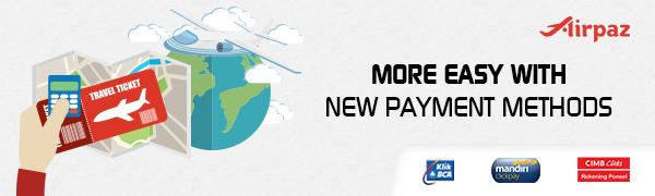 Beli Tiket Pesawat di Airpaz Makin Mudah dengan Debit Card Ini!