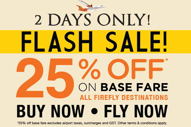 Firefly Flash Sale