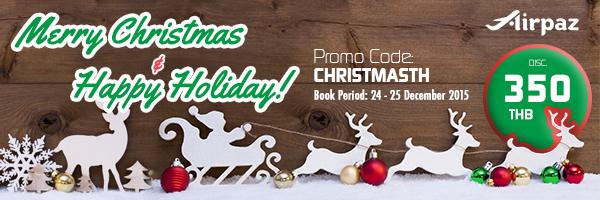 Promo Christmas Thailand