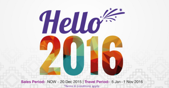 Promo Malindo Air New Year BIG BANG  All Fare RM 59