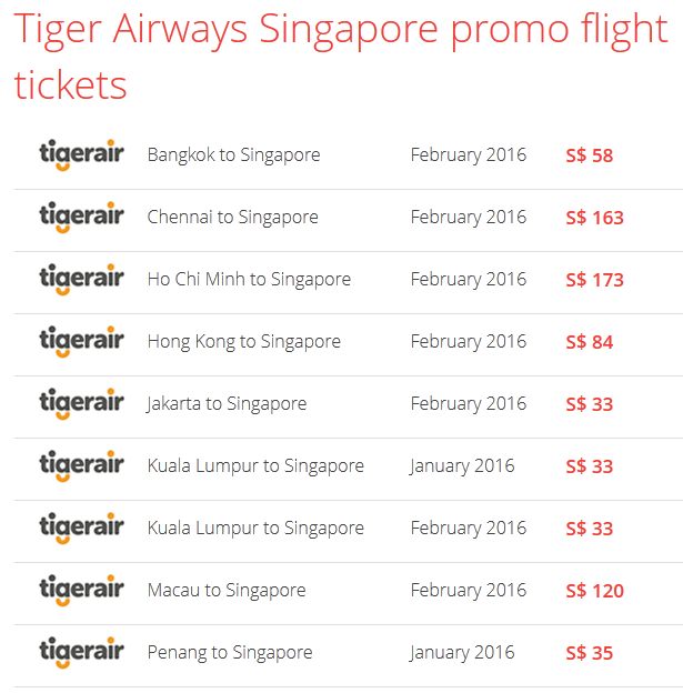 Airpaz Tiger Air Promo