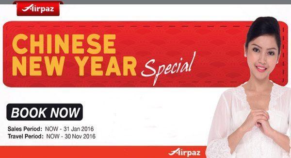 Malindo Chinese New Year Airpaz