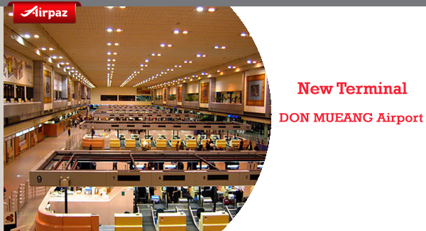 New Terminal at Don Mueang International Airport