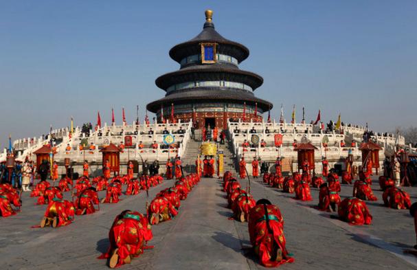 Traveling ke Tiantandongmen, Kuil Surga Kekaisaran Dinasti Ming