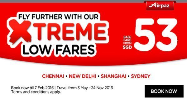 AirAsia Singapore Xtreme Low Fares Promotion
