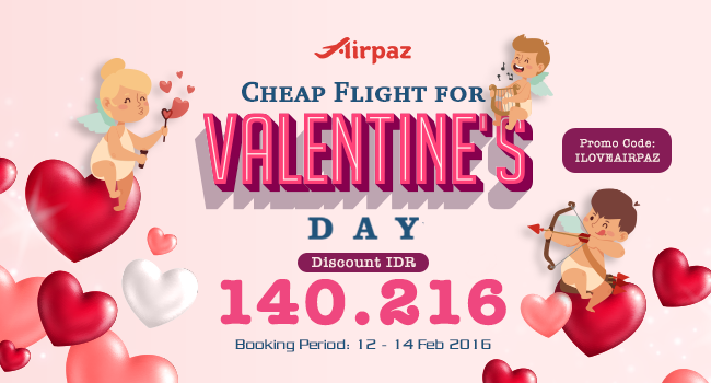 Cheap Flights Promo for Valentine's Day 2016 (2)