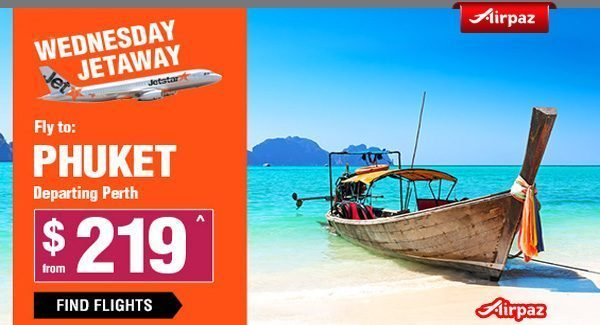 Jetstar Australia Wednesday Jetaway To Thailand Airpaz