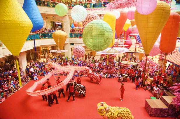 Kota Indonesia dengan Perayaan Imlek Paling Meriah