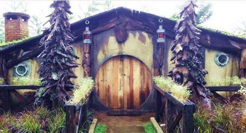 Rumah Hobbit Farmhouse, Wisata Baru dari Bandung