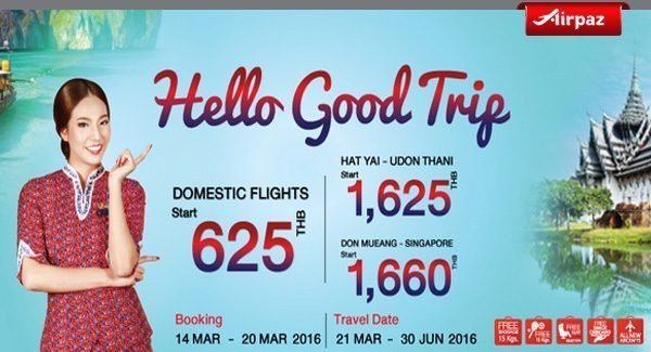 Thai Lion Air Hello Good Trip Promo Airpaz