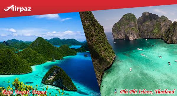 10 raja ampat & Phi phi island