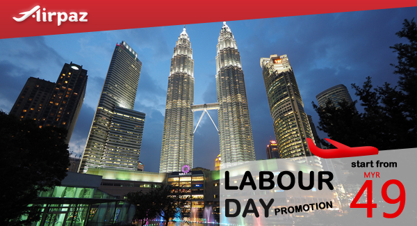 Firefly Labour Day Airpaz Promo