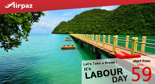 Malindo Air Labour Day Airpaz Promo