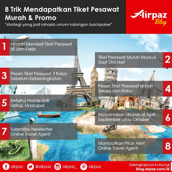 Strategi Mencari Tiket Pesawat Murah Promo Airpaz Blog Tips Liburan Dan Informasi Tempat Wisata Terlengkap