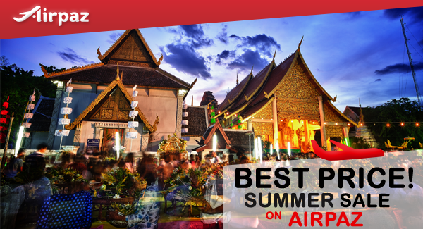 Thai Lion Air Summer Sale Airpaz Promo