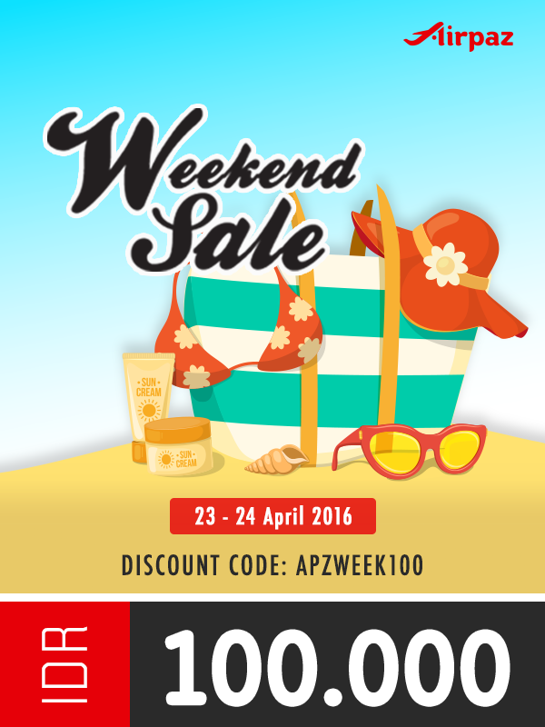 Weekend Sale 23-24 April 2016