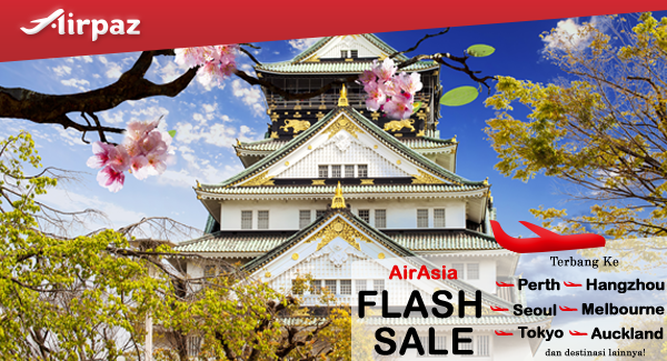 AirAsia Flash Sale on Airpaz.