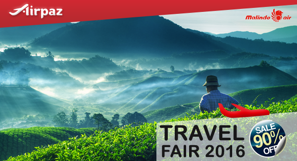 Malindo Travel Fair Airpaz Promo.