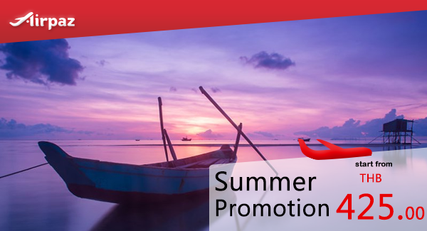 Thai Lion Air Airpaz Promo