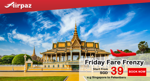 Jetstar Friday Fare Frenzy Singapore Airpaz Promo.