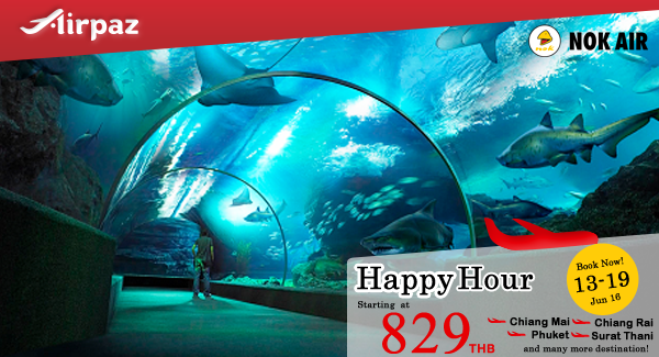 Nok Air Happy Hour Promotion Airpaz.