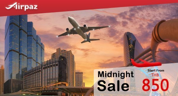 Nok Air Midnight Sale Airpaz Promo till 23 June 2016.