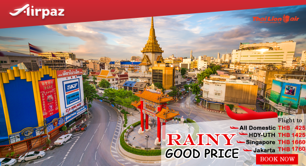 Thai Lion Air Rainy Good Price Promo on Airpaz.