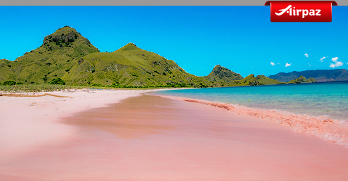Pink Beach Airpaz