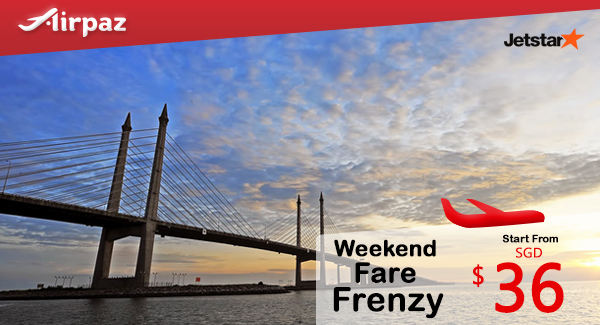 Jetstar Singapore Weekend Fare Frenzy Airpaz Promotion