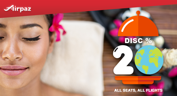 AirAsia Discount 20% for All Destination on Airpaz