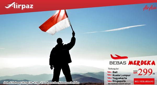 AirAsia Bebas Merdeka Promo Airpaz