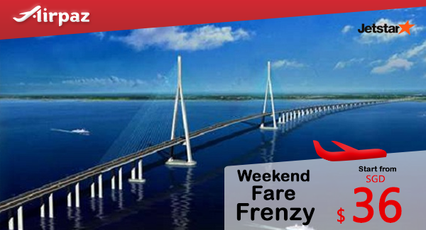 Jetstar Singapore Weekend Fare Frenzy Promotion Airpaz