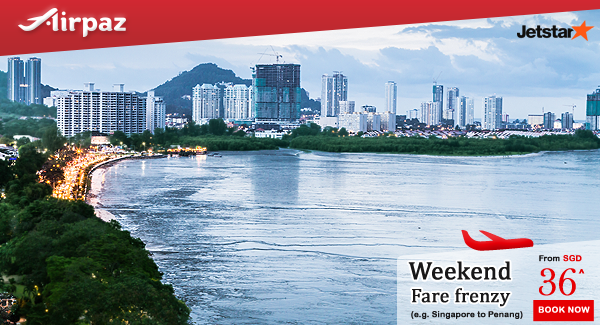 Jetstar Weekend Fare Frenzy Singapore Promo Airpaz