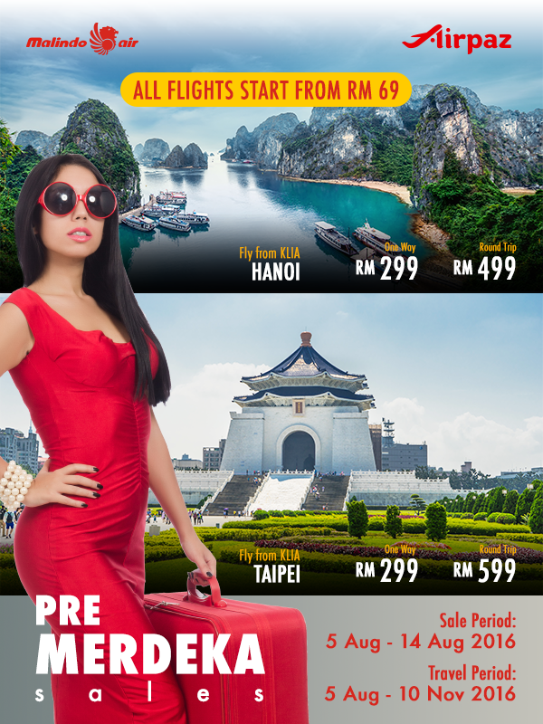 New International Routes of Malindo AIr
