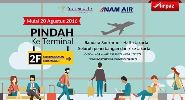 Perpindahan Terminal Sriwijaya Air