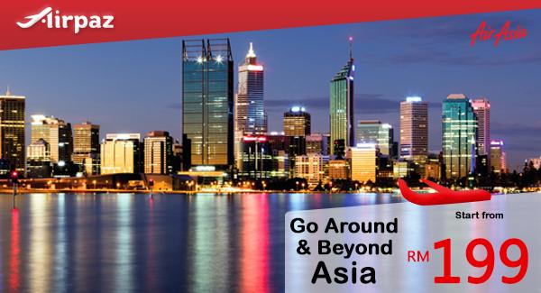 AirAsia Go Around and Beyond Asia Promo Airpaz